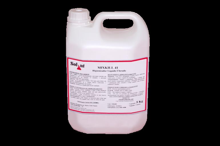 MixKill 41 | Higienizador líquido clorado